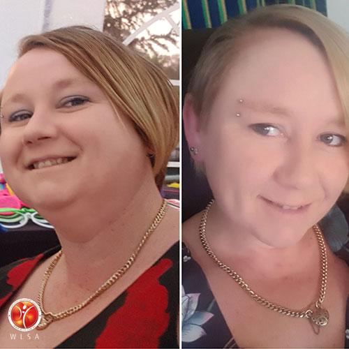 WLSA Warrior Billi-Jene Before and After